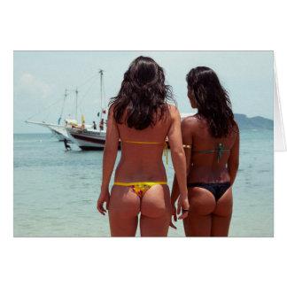 ladies of Rio Greeting Card
