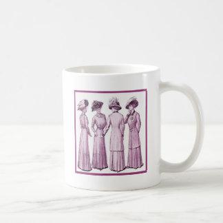 Ladies of the belle epoche. coffee mug