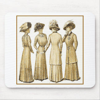 Ladies of the belle epoche mouse pad
