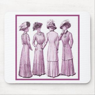 Ladies of the belle epoche. mouse pad