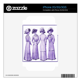 Ladies of the belle epoche decal for the iPhone 2G