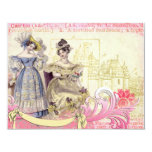Ladies of the Castle Collage Art Invitations