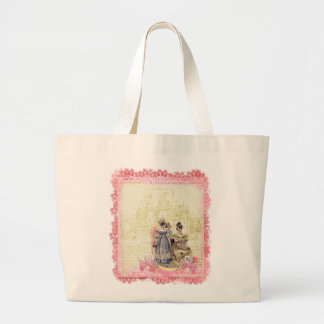 Ladies of the Castle Whimsical Collage Bag