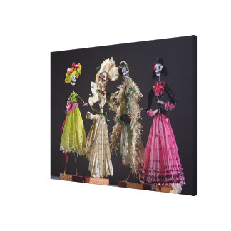 Ladies of the Day of the Dead, from Oaxaca Canvas Print