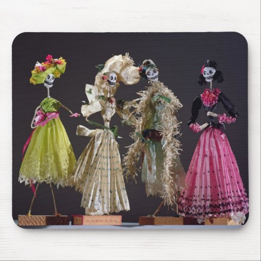 Ladies of the Day of the Dead, from Oaxaca Mouse Pad