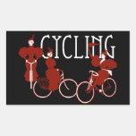 Ladies on Bicycles Sticker
