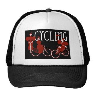 Ladies on Bicycles Trucker Hat