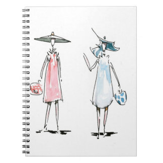 Ladies out to Lunch Notebook