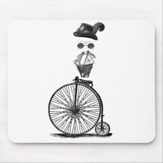 Ladies Penny Farthing Mouse Pad