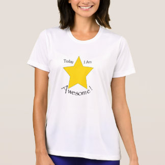 Ladies Performance Micro-Fiber T-Shirt, White T-Shirt