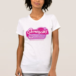 Ladies Pink Showboat Drive in Logo Top T Shirt