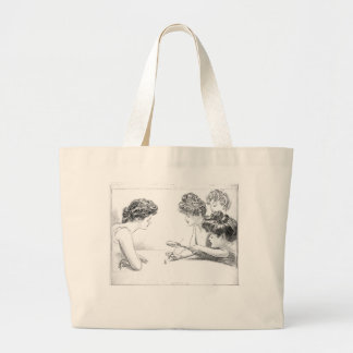 Ladies Play with man Canvas Bags