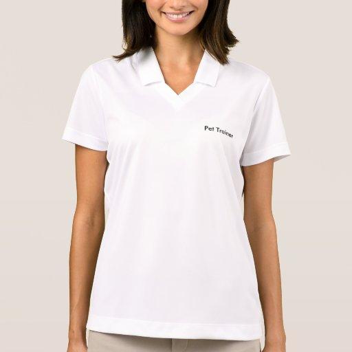 Ladies Polo Pet Training Shirt