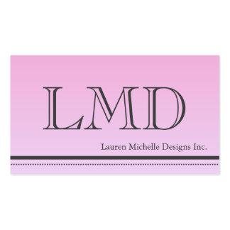 Ladies Professional Modern Design Business Card