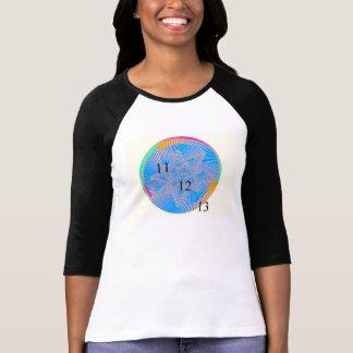 Ladies Raglan Rainbow 111213 T-Shirt 11/12/13