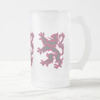 Ladies' Rampant Lion Frosted Mug