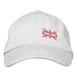 Ladies Reeverse Small Logo White/Strawberry Hat