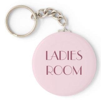 Ladies restroom keyring