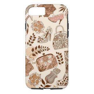 Ladies Retro Assorted Fashion Items iPhone 7 Case