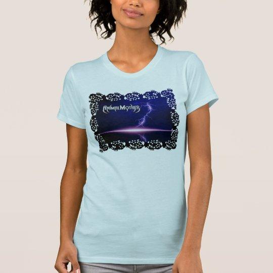"Ladies Reverse T ""Black Lightning"" front/back T-Shirt"