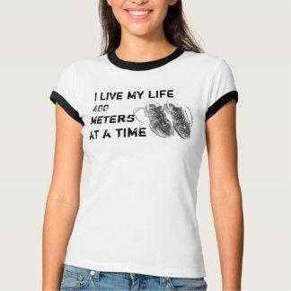 Ladies' Ringer - Life 400 meters at a time T-Shirt