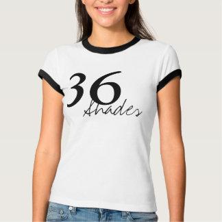 Ladies Ringer T-Shirt, White/Black Tee Shirt