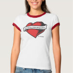 Ladies Ringer T's (LiveJournal Tattoo) T-Shirt
