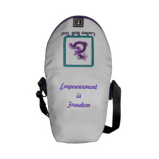Ladies Roll Too! Courier Bags