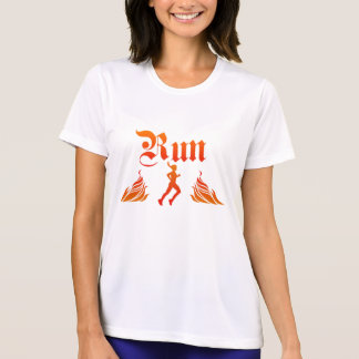 LADIES RUN MICRO FIBER PERFORMANCE SHIRT