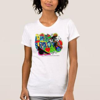 "Ladies Scoop Neck Tee, ""I'm Ready"" B. Callahan art T-Shirt"