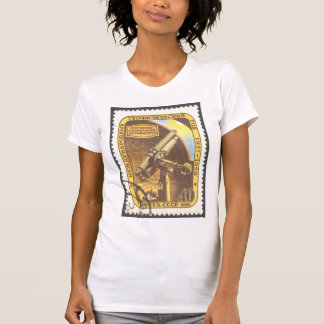 Ladies Sheer V-Neck (Fitted) Astronomy T-Shirt