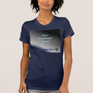Ladies Sheer V-Neck (Fitted) Tshirts