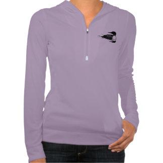 Ladies shirt purple - duck