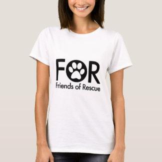 Ladies short sleeve black logo T-Shirt