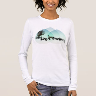 Ladies Soft White Winter T Long Sleeve T-Shirt