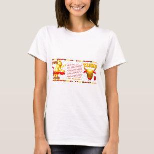 Zodiac Fire Tiger Gifts T-Shirts - T-Shirt Design & Printing | Zazzle