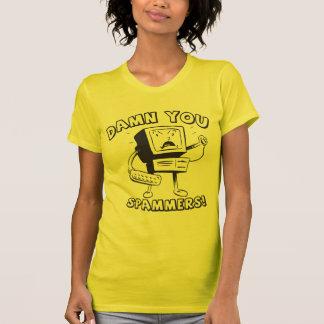 Ladies Spammers Geek Shirt