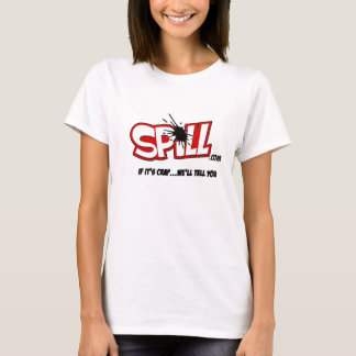 Ladies Spill Logo T-Shirt