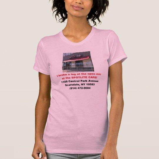 Ladies' Spotlite Cafe Open Mic Standard T-Shirt