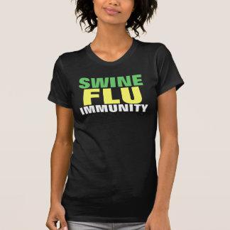 Ladies Swine Flu Shirt