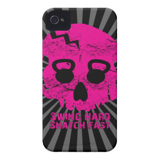 Ladies Swing Hard Snatch Fast Kettlebell Iphone 4 iPhone 4 Cover