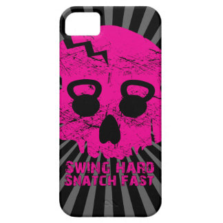 Ladies Swing Hard Snatch Fast Kettlebell Iphone 5 iPhone SE/5/5s Case