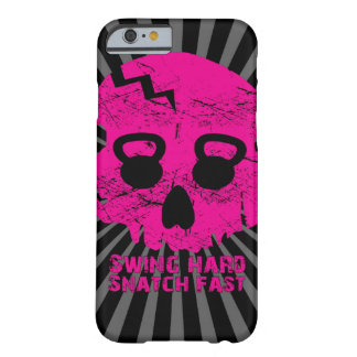 Ladies Swing Hard Snatch Fast Kettlebell iPhone 6  Barely There iPhone 6 Case