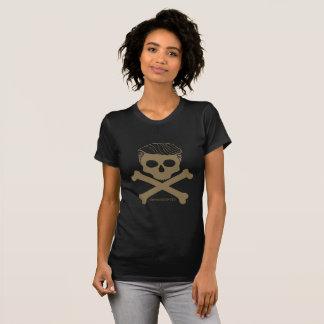 Ladies T- black with gold logo T-Shirt