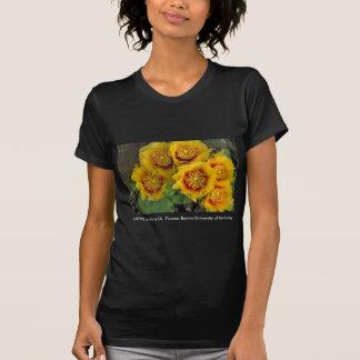 Ladies T / Prickly Pear Cactus Blooms T-shirt