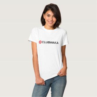 Ladies T-Shirt - CLUBWAKA Wordmark