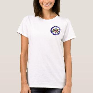 Ladies t-shirt, Emb STP, getting danger pay T-Shirt