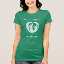 Ladies T-Shirt - Science March - I'm With Her