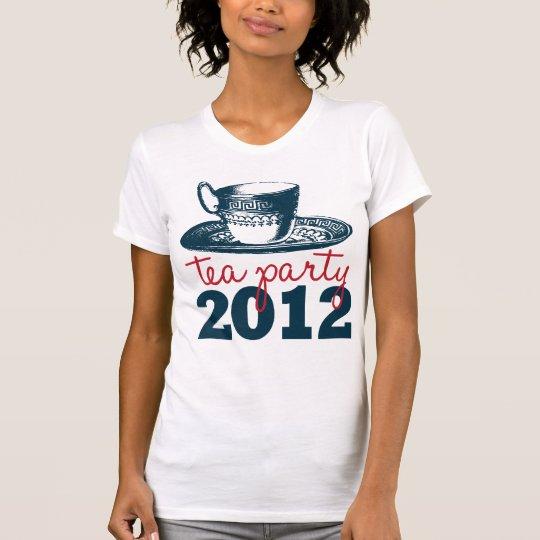 Ladies Tea Party Republican 2012 T-Shirt
