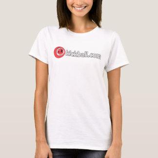 Ladies Tee - Kickball.com Wordmark